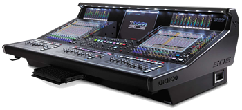 DiGiCo audio consoles used at the Grammy Awards